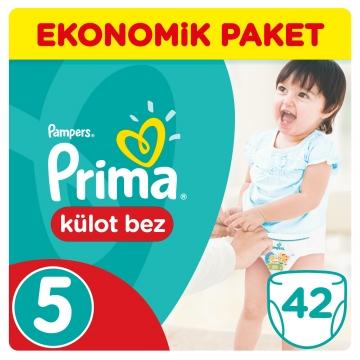 Prima Külot Bebek Bezi Ekonomik Paket 5 Beden 42 Adet