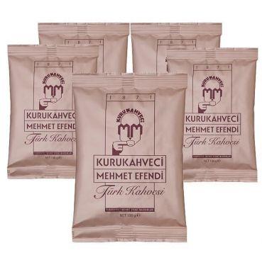 Kurukahveci Mehmet Efendi Türk Kahvesi 100 gr x 5 Adet