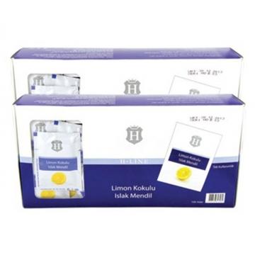 H-Line Limon Kokulu Islak Mendil 20 x 11 cm 100 Adet