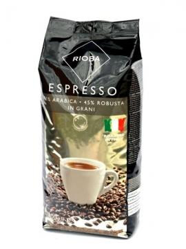 Rioba Espresso %55 Arabica %45 Robusta In Grani 1000 gr
