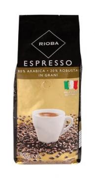 Rioba Espresso %80 Arabica %20 Robusta In Grani 1000 gr