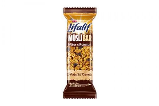 Eti Lifalif Müsli Bar Bİtter Çikolatalı 35 gr