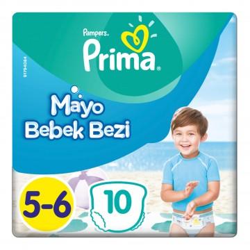 Prima Mayo Bebek Bezi 5-6 Beden 14+ kg 10 Adet