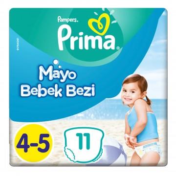 Prima Mayo Bebek Bezi 4-5 Beden 9-15 kg 11 Adet