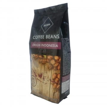 Rioba Coffee Beans Indonesia Kavrulmuş Çekirdek Kahve 500 gr