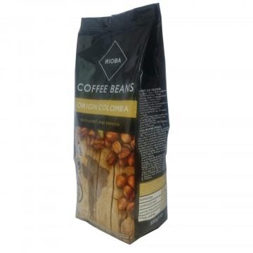 Rioba Coffee Beans Colombia Kavrulmuş Çekirdek Kahve 500 gr