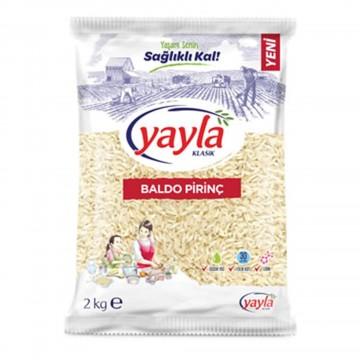 Yayla Bakliyat Baldo Pirinç 2000 gr