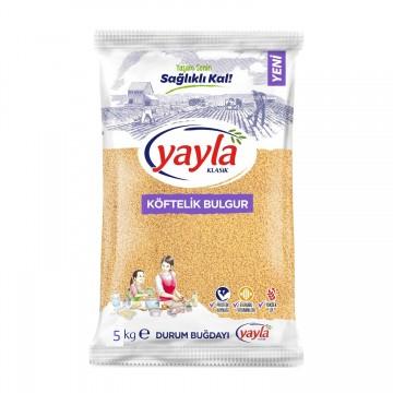 Yayla Köftelik Bulgur 5000 gr