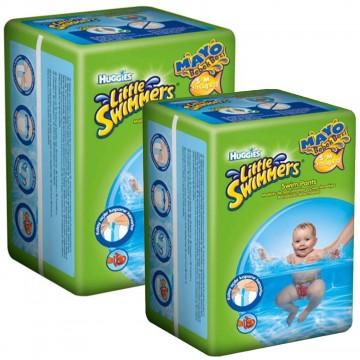 Huggies Little Swimmers S - M  Mayo Bebek Bezi 7 - 15  kg 2 x 12 Adet