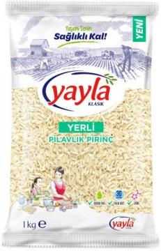 Yayla Yerli Gönen Pirinç 1000 gr