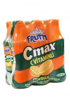 Uludağ Frutti C Max Portakal 200 ml x 6 Adet
