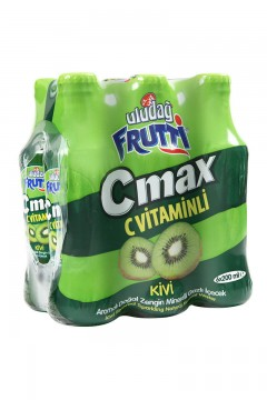 Uludağ Frutti C Max Kivi 200 ml x 6 Adet