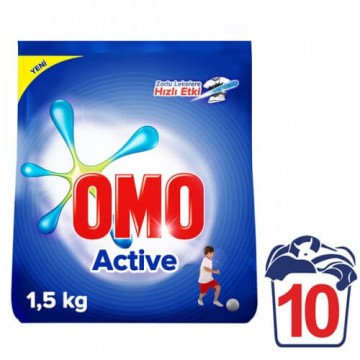 Omo Matik Active Deterjan 1500 gr 10 Yıkama