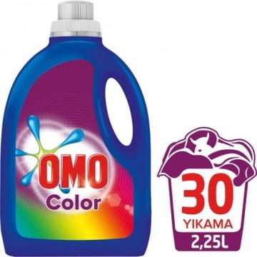 Omo Sıvı Çamaşır Deterjanı Color 30 Yıkama 2250 ml