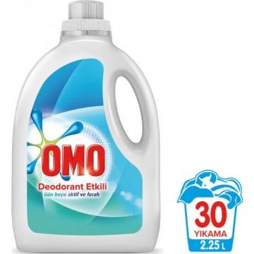Omo Sıvı Çamaşır Deterjanı Deodorant Etkili 30 Yıkama 2250 ml