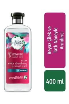 Herbal Essences Sampuan White Strawberry 400 ml
