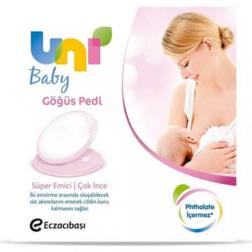 Uni Baby Göğüs Pedi 24 Adet