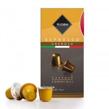 Rioba Espresso Cremoso Kahve 5 gr x 10 Adet