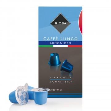 Rioba Armonioso Lungo Kahve 5 gr x 10 Adet