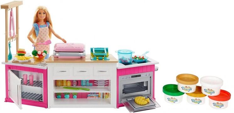 Barbie FHR73 Mutfak Dünyası Oyun Seti