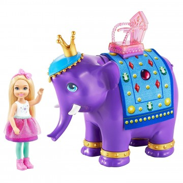 Barbie FPL83 Dreamtopia Chelsea ve Fil Kral