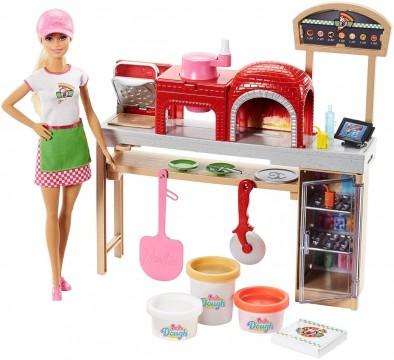 Barbie FHR09 Pizza Yapıyor Oyun Seti