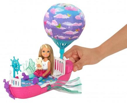 Barbie DWP59 Dreamtopia Chelsea ve Sihirli Kayığı