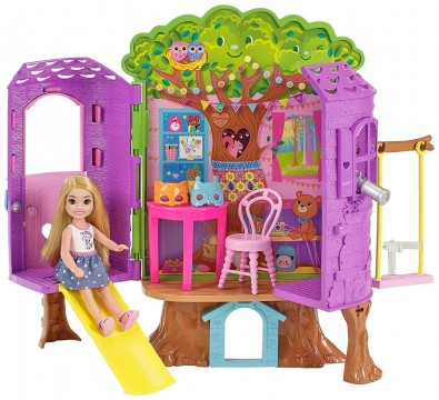 Barbie FPF83 Chelsea' nin Ağaç Evi