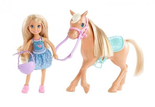 Barbie FPF83 Chelsea ve Sevimli Atı