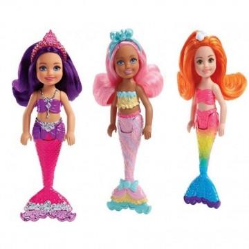 Barbie FKN03 Dreamtopia Chelsea Denizkızı Bebekleri
