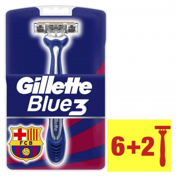 Gillette Blue 3 Kullan-At 6+2 Adet Tıraş Bıçağı