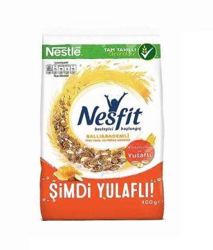 Nestle Nesfit Bal & Badem Tam Buğday Pirinç Gevreği 400 gr