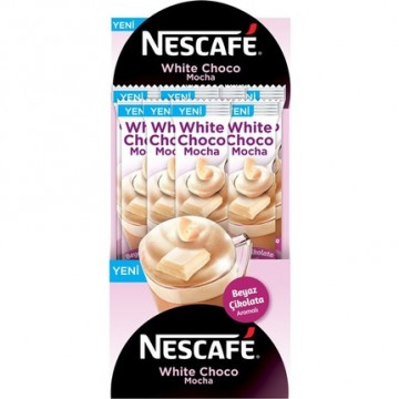 Nescafe White Choco Mocha  24 Adet