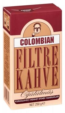 Kurukahveci Mehmet Efendi Colombian Filtre Kahve 250 gr