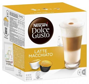 Nescafe Dolce Gusto Coffee Latte Macchiato 16 Kapsül