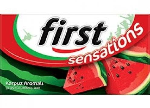 First Sensations Karpuz  Aromalı Sakız 27 gr