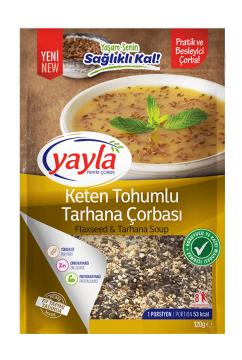 Yayla Pratik Çorba Keten Tohumlu Tarhana Çorbası 120 gr