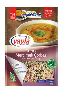 Yayla Pratik Çorba Gurme Mercimek  Çorbası 180 gr