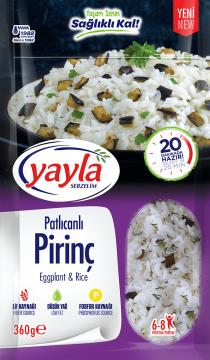 Yayla Bakliyat Sebzelim Patlıcanlı Pirinç 360 gr
