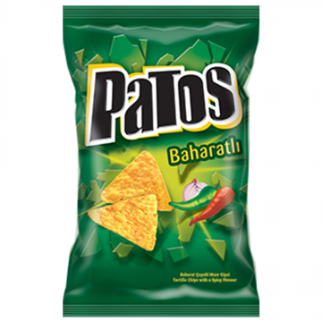 Patos Parti Boy Baharatlı Spicy 165 gr