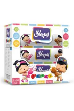 Sleepy Pepe Islak Mendil 3 x 50 Adet / 150 Yaprak