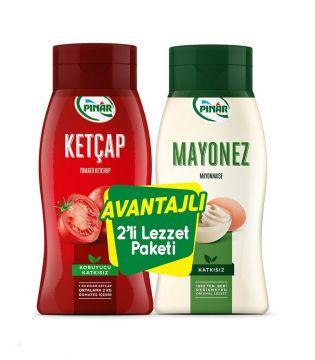 Pınar Ketçap 600 gr + Mayonez 500 gr