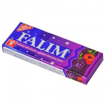 Falım Orman Meyveleri Aromalı Şekersiz Sakız 5 Adet 7 gr