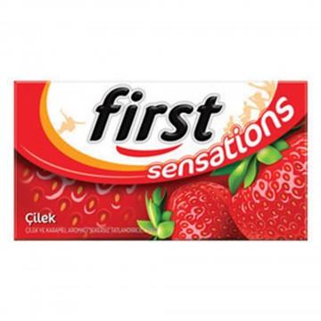 First Sensations Çilek Aromalı Sakız 27 gr