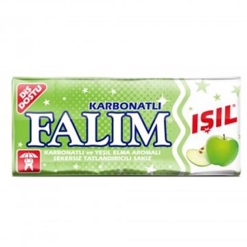 Falım Işıl Karbonatlı ve Yeşil Elmalı Şekersiz Sakız 8 gr