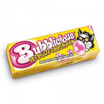 Bubblicious Karışık Meyve Aromalı Şekerli Balonlu Sakız 38 gr