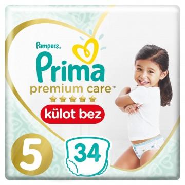 Prima Premium Care Külot Bez Junior 5 Beden 34 Adet