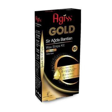 Agiss Gold Sir Ağda Bantları Ekstra Bakım 41 Adet
