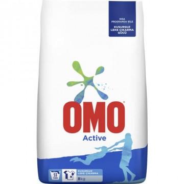 Omo Matik Active Deterjan 8 Kg 53 Yıkama