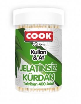 Cook Jelatinsiz Kürdan 400 Adet